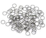 200 PCs 9mm Thick STAINLESS STEEL Thick Open Jump Rings 15 gauge wire Findings jum0015a