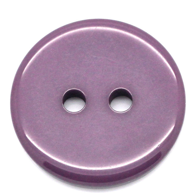 12 ROUND PLUM Buttons for Jewelry Making, Scrapbooking, Sewing . 18mm  but0110