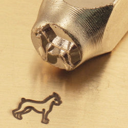 ImpressArt Metal Design Stamp,  6mm BOXER Dog tol0115