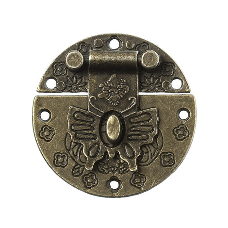 1 Antiqued Bronze Metal Hinge for Framing, Crafts, Boxes, butterfly  fin0026