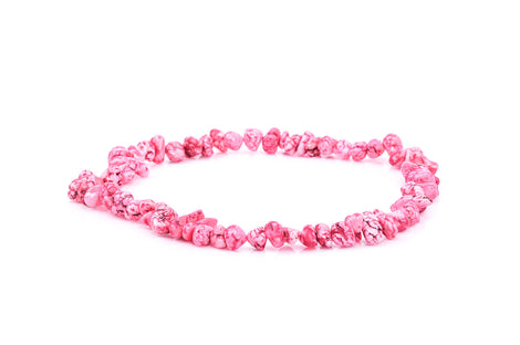 1 Strand Magnesite PINK NUGGET Beads  how0295