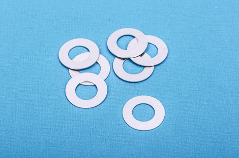 "10 pcs Open WASHER Donut Shape ImpressArt Soft Strike ALUMINUM™ Metal Stamping Blanks Charms 1"" (25mm)"