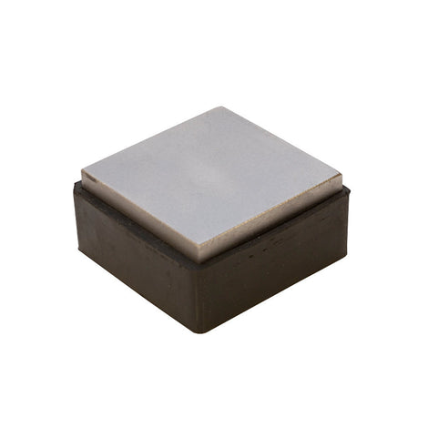 "2.5"" SQUARE Bench Block Helper with Rubber Base Steel and Rubber Stamping Blocks   tol0346"