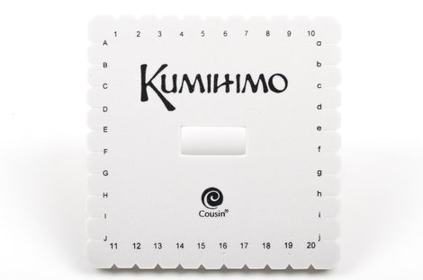 "6"" Square KUMIHIMO DISC for jewelry braiding includes full instructions with photos tol0390"