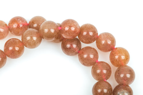 8mm Round MUSHROOM AGATE Beads, smooth, full strand, gag0184