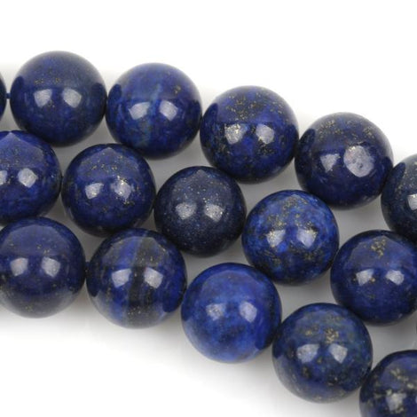 4mm Round LAPIS LAZULI Gemstone Beads, full strand, gla0003b