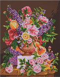 "Diamond Painting Kit BOUQUET ANCIEN Diamond Dotz 21""x26"" kit0200"