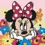 Diamond Painting Kit, Disney Minnie Mouse Diamond Dotz Diamond Embroidery, Diamond Facet Art, Bling Wall Art, kit0376