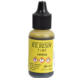 ICE Resin Tint, Yarrow Yellow, 1/2 oz. bottle, GROUND SHIPPING Only, pnt0035