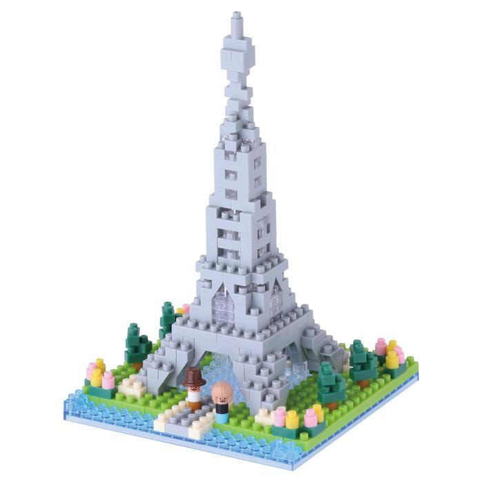 Eiffel Tower Rives De La Seine Nanoblock Set, NBH097 nan0048