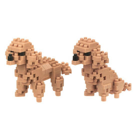 Toy Poodle Dog Nanoblock Set, NBC252 nan0016