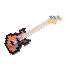 Electric Bass Guitar Nanoblock Set, NBC051 nan0012