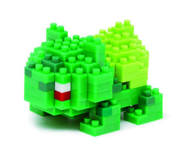 Pokemon Bulbasaur Nanoblock Set, NBPM003 nan0042