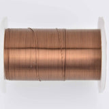 28ga Antique Brass Craft Wire, Tarnish Resistant wire wrapping 40 yards (120 feet) spool wir0199