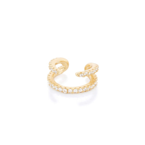 Cosmo Pave Ear CuffEarrings Jewelry