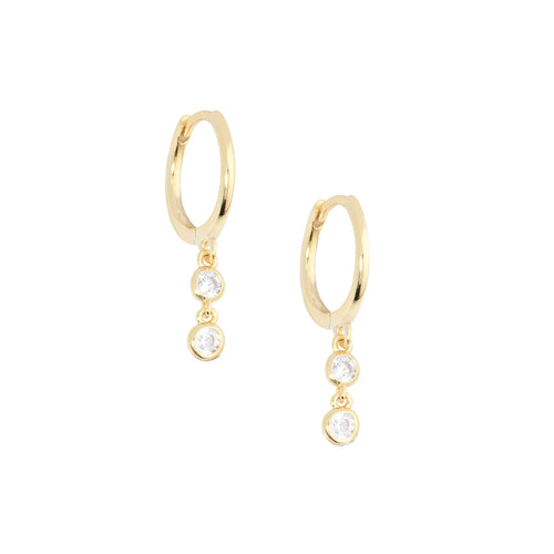 Emily Diamond HuggieEarrings Jewelry