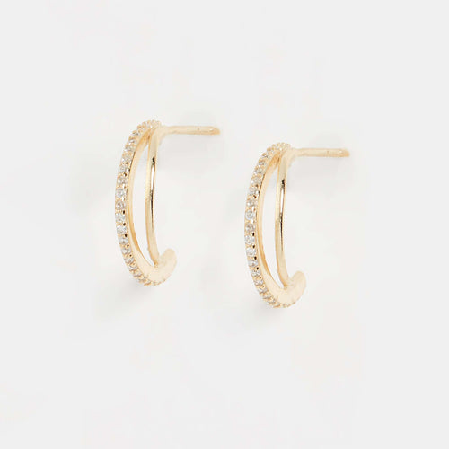 Luster Hoop EarringEarrings Jewelry