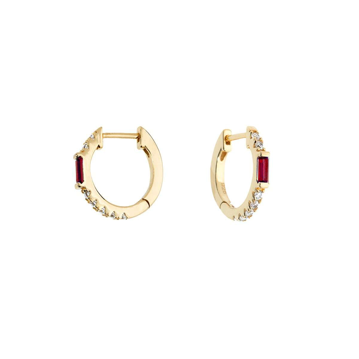 ruby-baguette-huggieearrings-jewelry