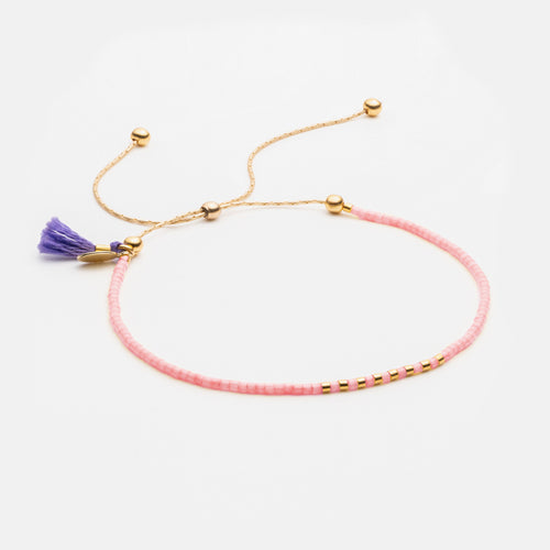 Sam Chain Bracelet - Purple