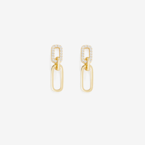 Justice Pave Earring