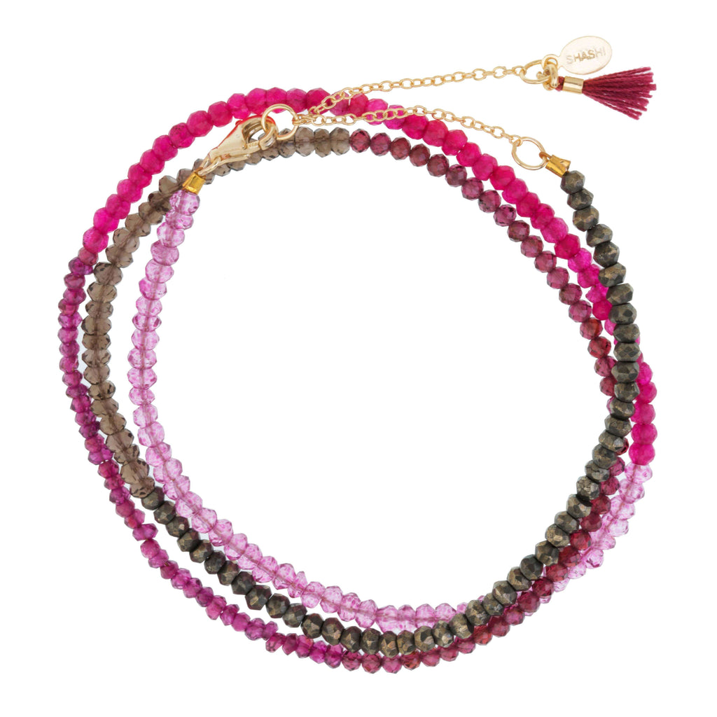 Eliza Gemstone Ombre WrapBracelets Jewelry