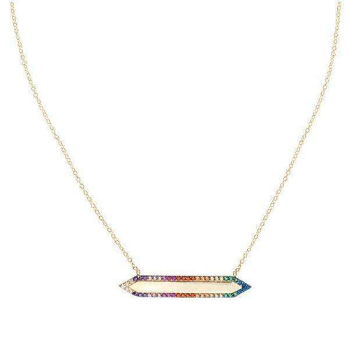 Mariah Necklace- RainbowNecklaces Jewelry