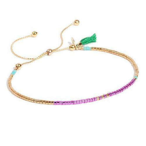 The Sam Bracelet - Multi EmeraldBracelets Jewelry