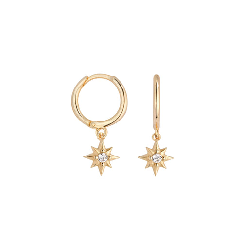 Starburst Huggie EarringEarrings Jewelry