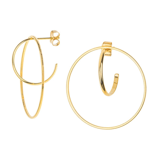 Venus Hoop EarringEarrings Jewelry