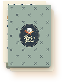 Recipe Table 3 Months Subscription