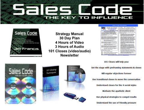 Sales Code System