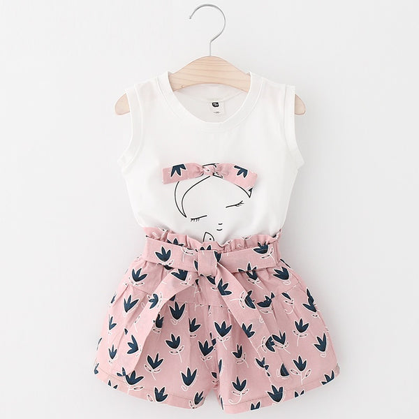Betty Bow Shirt and Pants Set