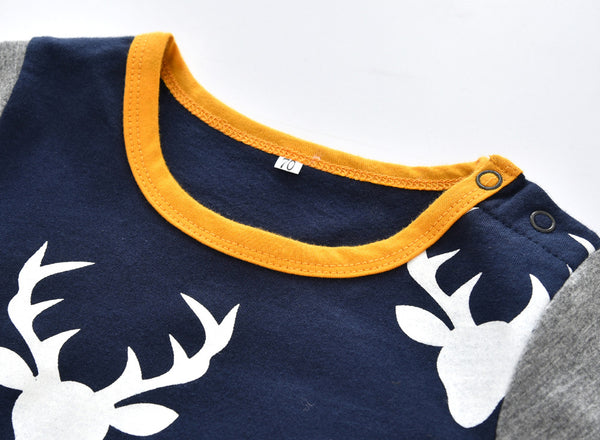 Cute Deer Baby Romper