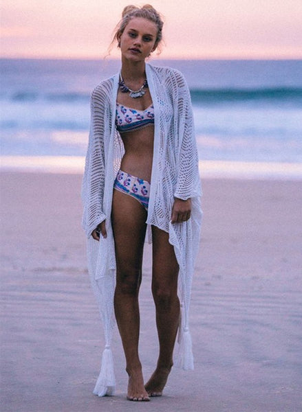 Island Breeze Crochet Beach Cover-up