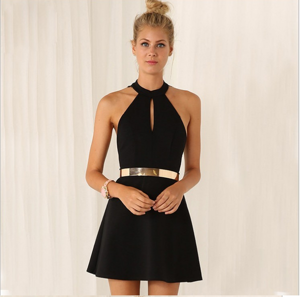 Zoey Lace Backless  Dress