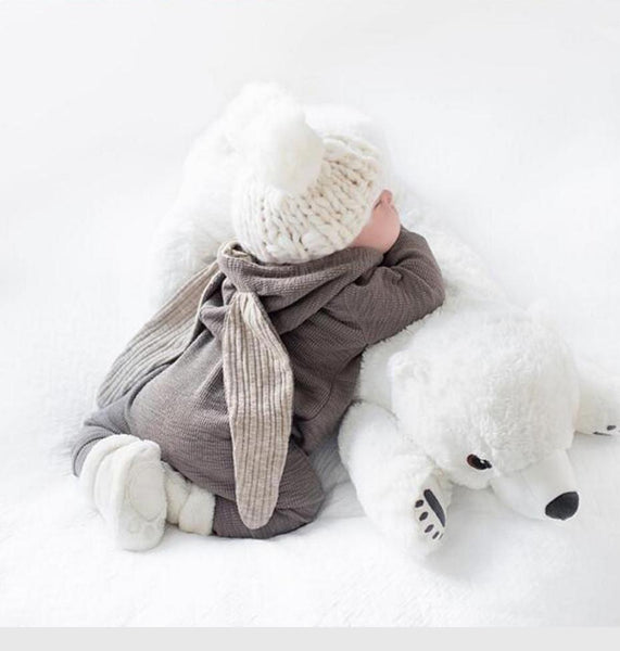 Polar Bear Baby Pillow