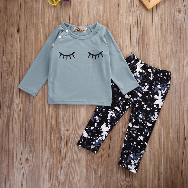 Sleepy Eye Baby Girl 2 Piece Set