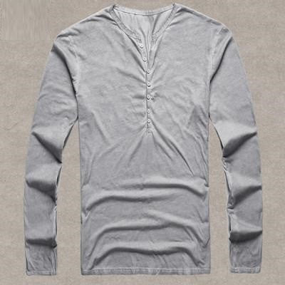 Casual Cotton  Long Sleeve T-Shirt