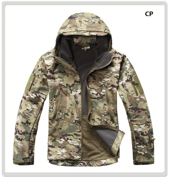 Tactical Hunting Softshell Camouflage Jacket