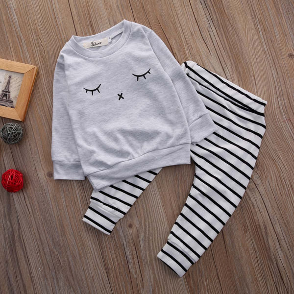 Eyelash Baby Boy 2 Piece Set