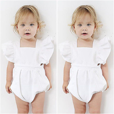 Angel White Lace Romper