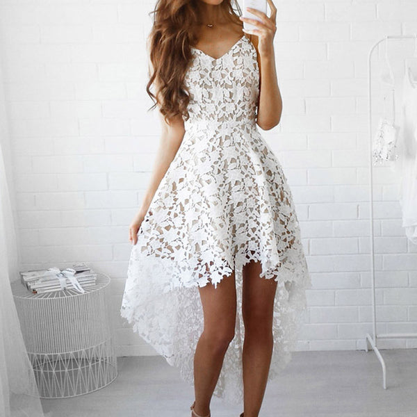Lace Boho Summer Dress