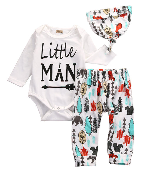 Little Man Baby Outfits