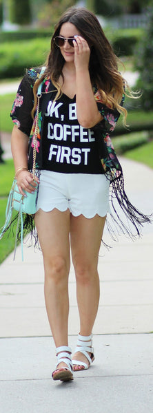 Coffee First T-Shirt