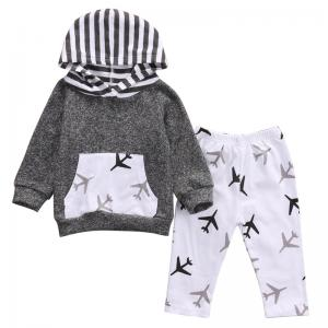 It's A Plane Hooded Tops And Pants