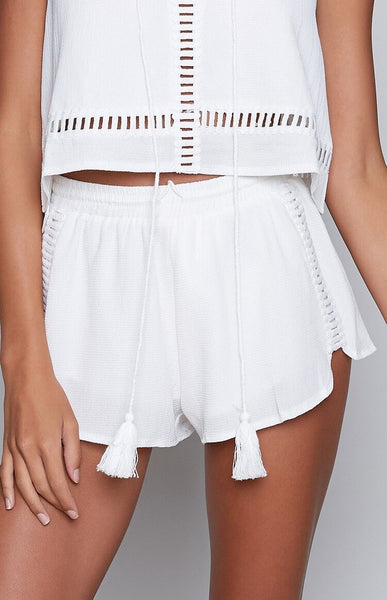 White Angel Top and Shorts