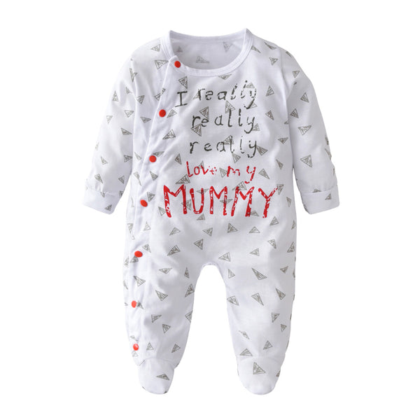 Love My Mummy / Daddy  Baby Romper