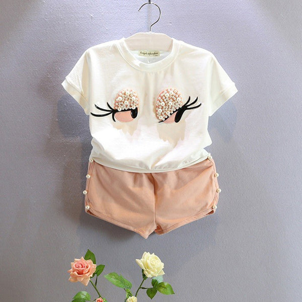 Pearly Eyes T-Shirt and Shorts
