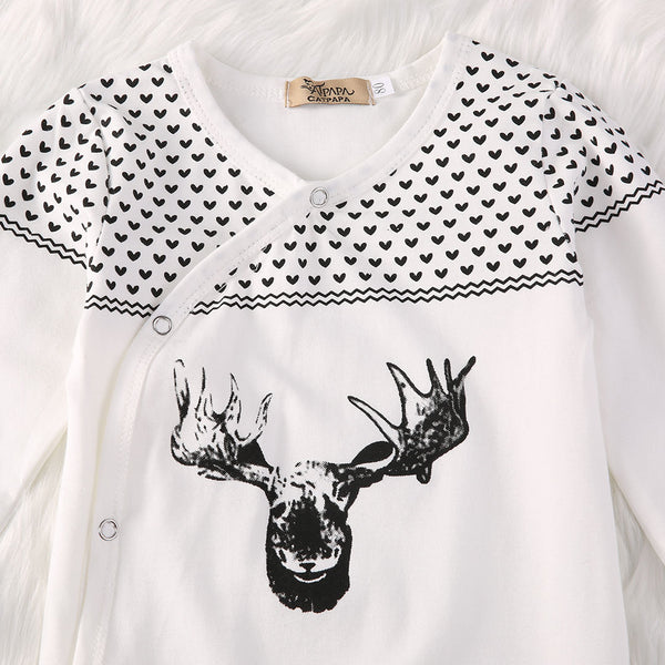 Cute Baby Deer Romper