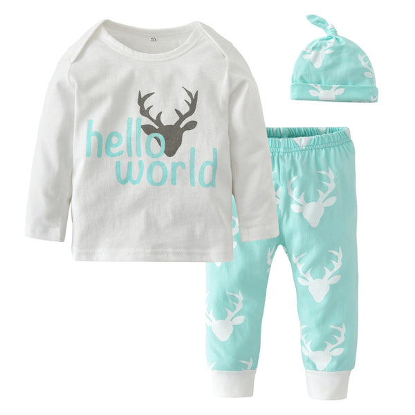 Hello World 3 Pc Set - Aqua